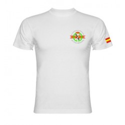 Camiseta Blanca Guardia Civil Bolsillo