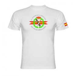 Camiseta blanca Guardia Civil Central