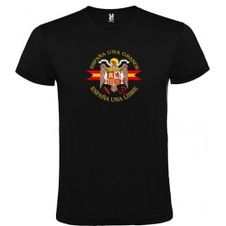 Camiseta Negra Águila Central