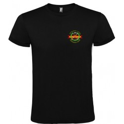 Camiseta Negra Legión Bolsillo
