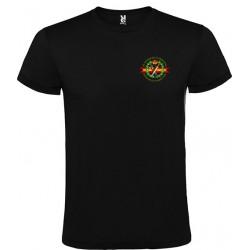 Camiseta Negra Guardia Civil Bolsillo