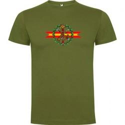Camiseta verde Guardia Civil Central