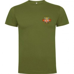 Camiseta verde Águila Bolsillo