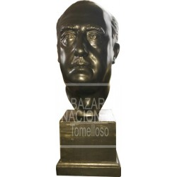 Busto Francisco Franco 58 cm.