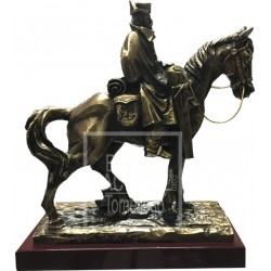 Figura de Guardia Civil a Caballo 17 cm.