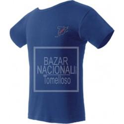 Camiseta Azul Mapa de España UNA