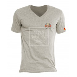 Camiseta Gris Águila en Bolsillo