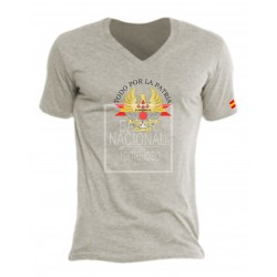 Camiseta Gris Ejércitos de España en el Centro