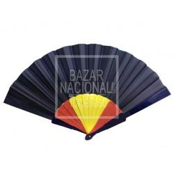 Abanico Azul Bandera de España