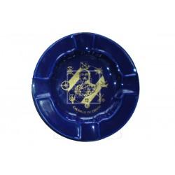 Cenicero Azul Cobalto Francisco Franco