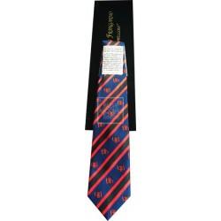 Corbata Azul Marino Cinco Flechas