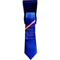 Corbata Azul Marino Bandera de España