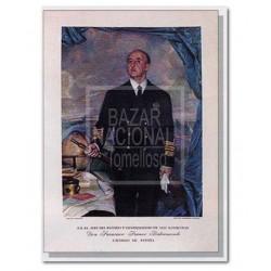 Lámina Francisco Franco Marino 64x88
