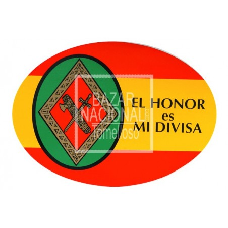 Adhesivo Guardia Civil