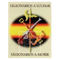 Acuarela Legión Española