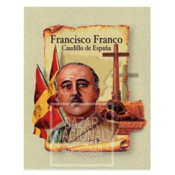 Acuarela Francisco Franco