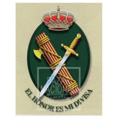 Acuarela Guardia Civil