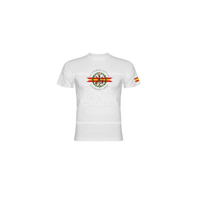 Camiseta Blanca Legión Española Central