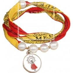 Pulsera Bandera Medalla Virgen del Pilar