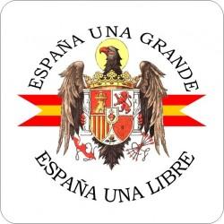 Posavasos Cuadrado Águila de San Juan