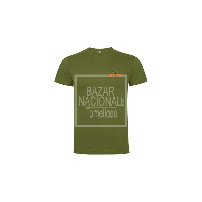 Camiseta verde Legión Bolsillo