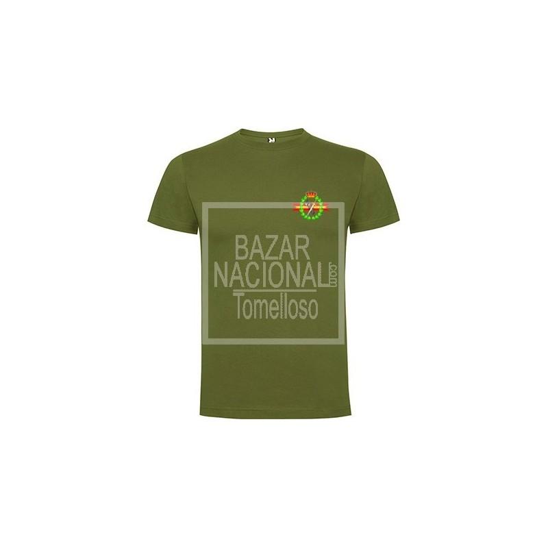Camiseta verde Guardia Civil Bolsillo