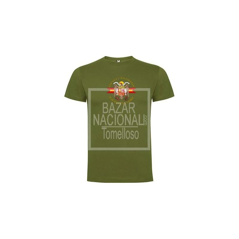Camiseta verde Águila Central