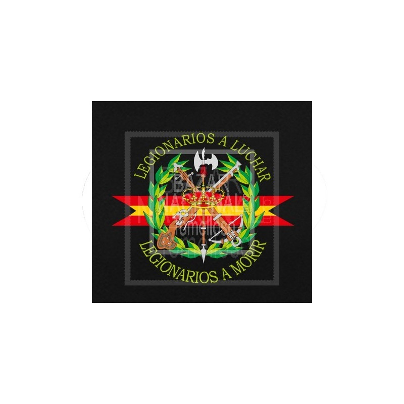 Polo Negro Manga Larga Legión