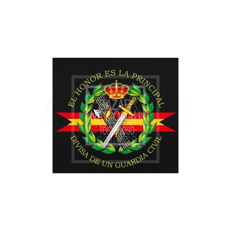 Polo Negro Manga Larga Guardia Civil