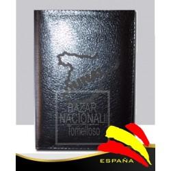 Billetero Mapa España Negrro
