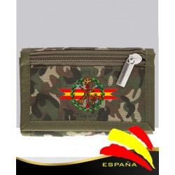 Billetero Camuflaje Legión
