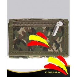 Billetero Camuflaje Bandera España