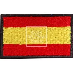 Parche Bordado Negro Bandera España