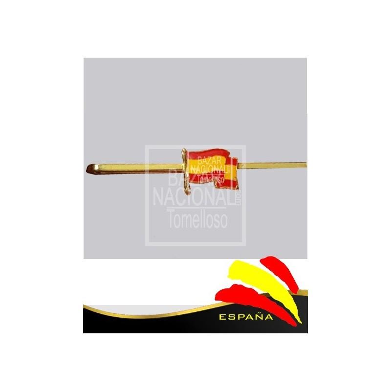 Alfiler de Corbata Bandera España
