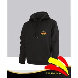 Sudadera Negra Legión Española