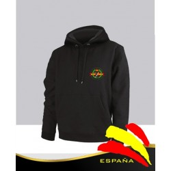 Sudadera Negra Guardia Civil