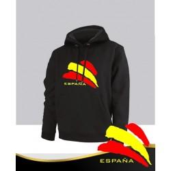 Sudadera Negra España