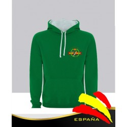 Sudadera Verde G. Civil
