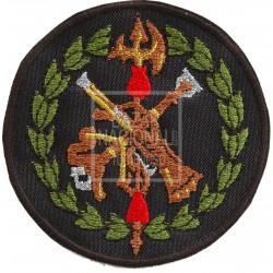 Parche Bordado Negro Legión Española