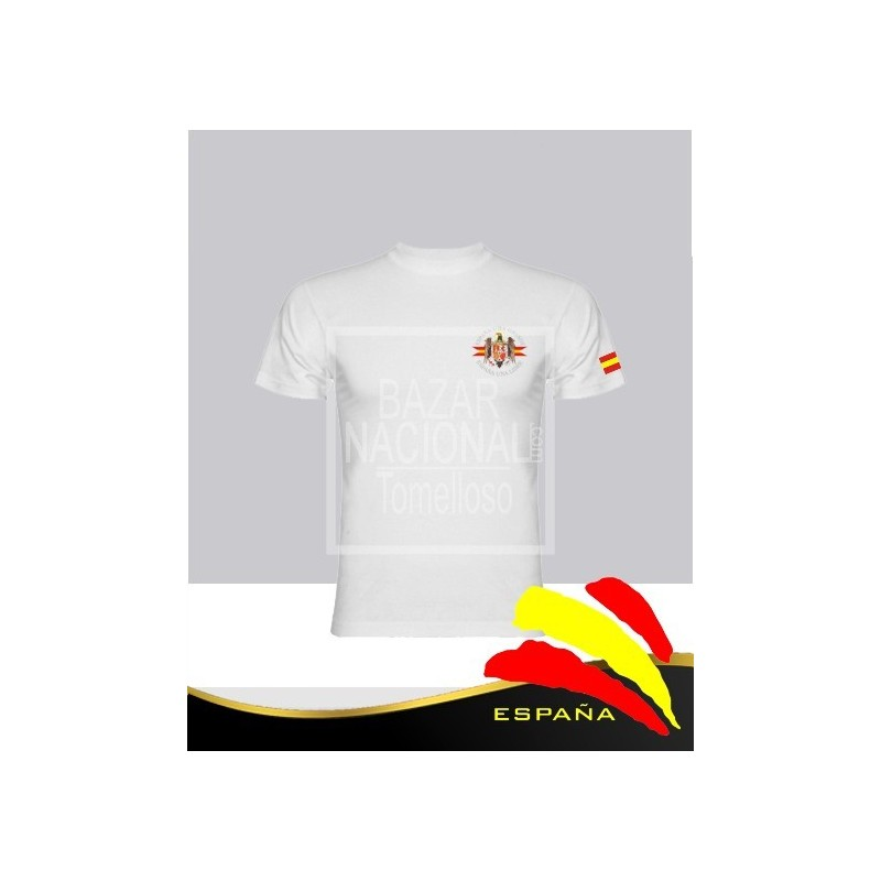 Camiseta Blanca Águila Bolsillo Sublimada