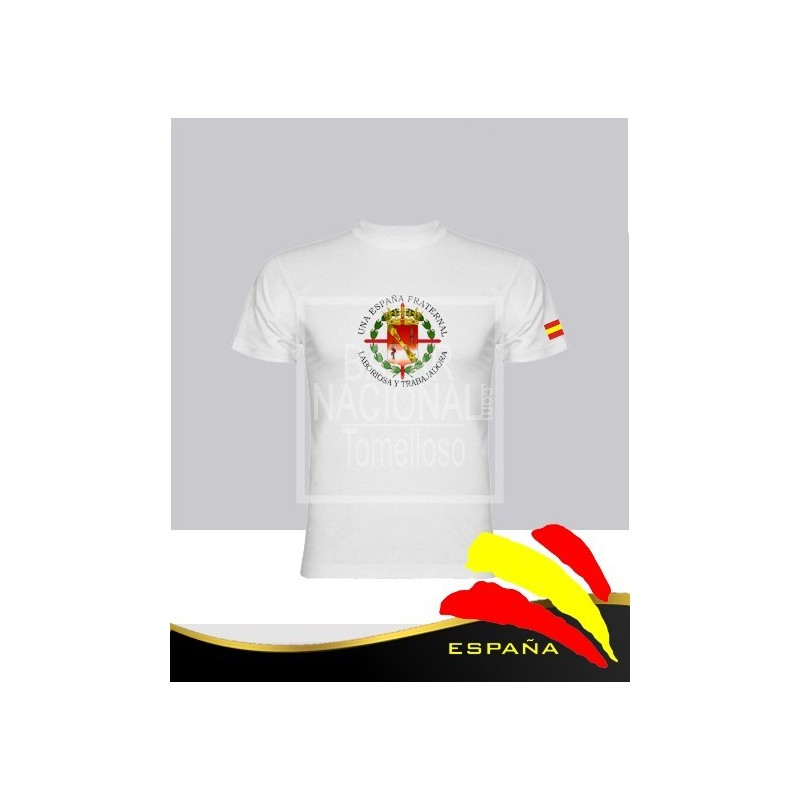 Camiseta Blanca Escudo Casa Civil Central