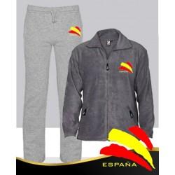 Conjunto Deportivo  gris Invierno España