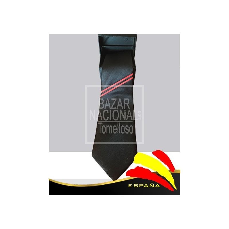 Corbata Negra Bandera Falange