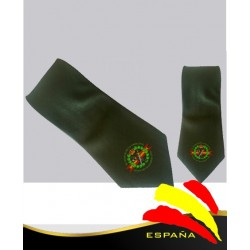 Corbata Verde guardia Civil