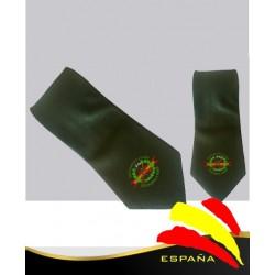 Corbata Verde Legión Española