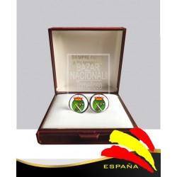 Gemelos redondo Legión Española