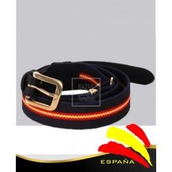 Cinturón Elástico Azul Marino Bandera España
