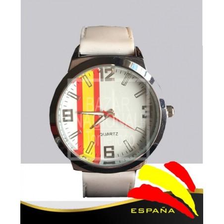 Reloj Blanco Bandera España