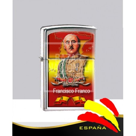 Mechero Imitación Zippo Francisco Franco