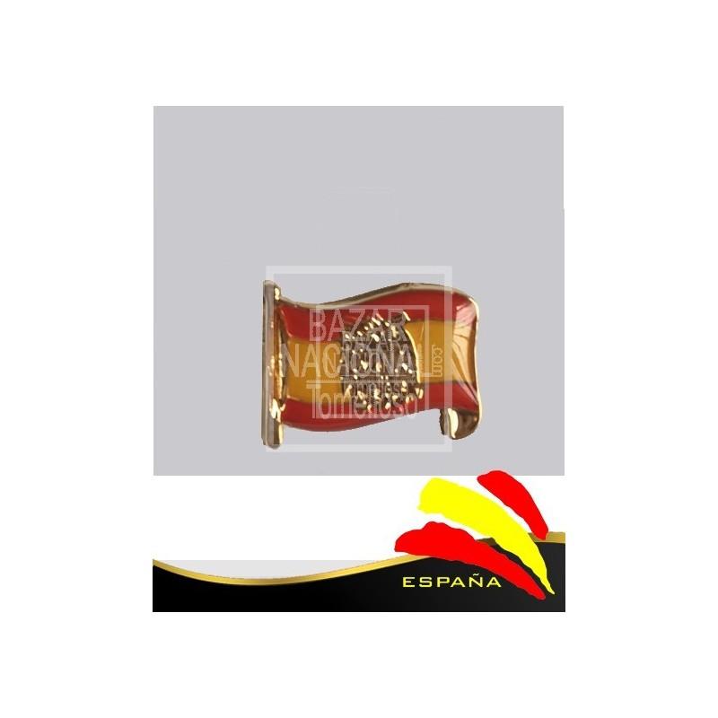 Pin Metálico Bandera España y Águila de San Juan
